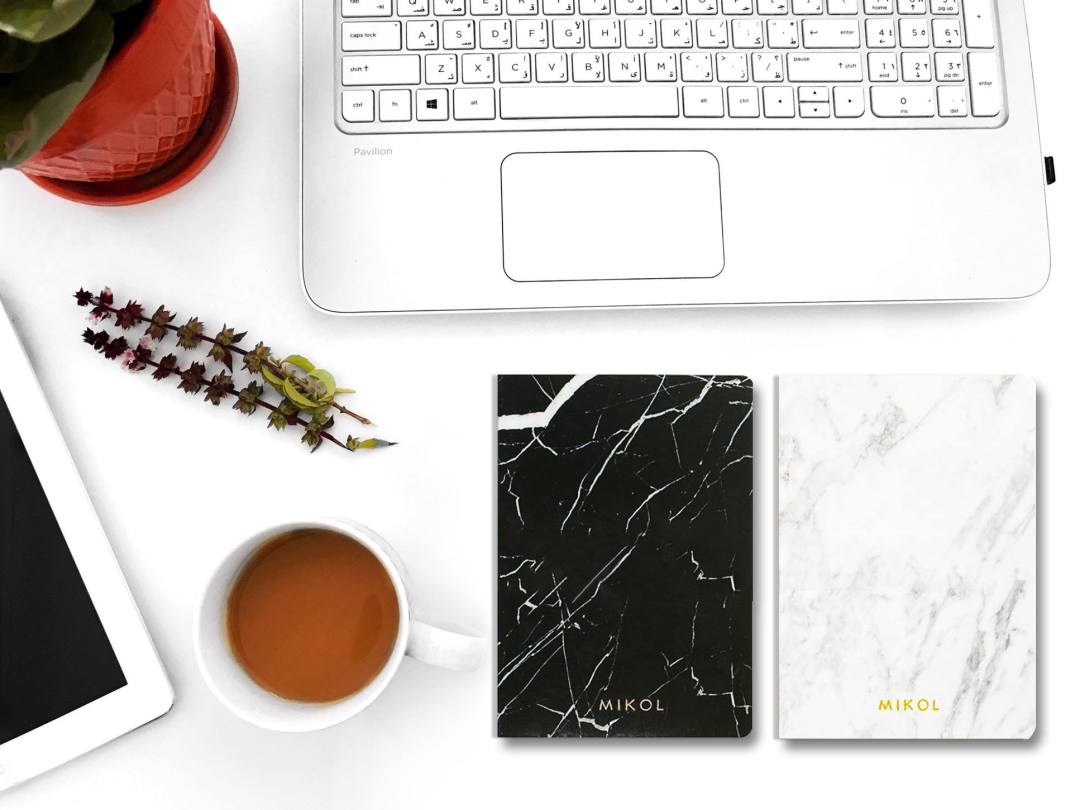 Real Marble Notebook by Mikol Marmi