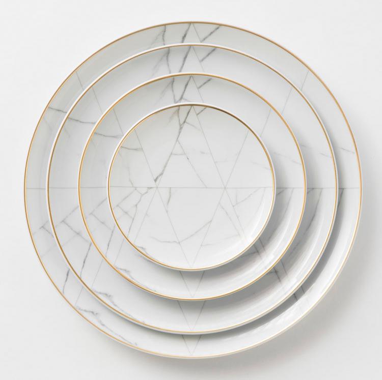Award winning Carrara Dinnerware by Vista Alegre