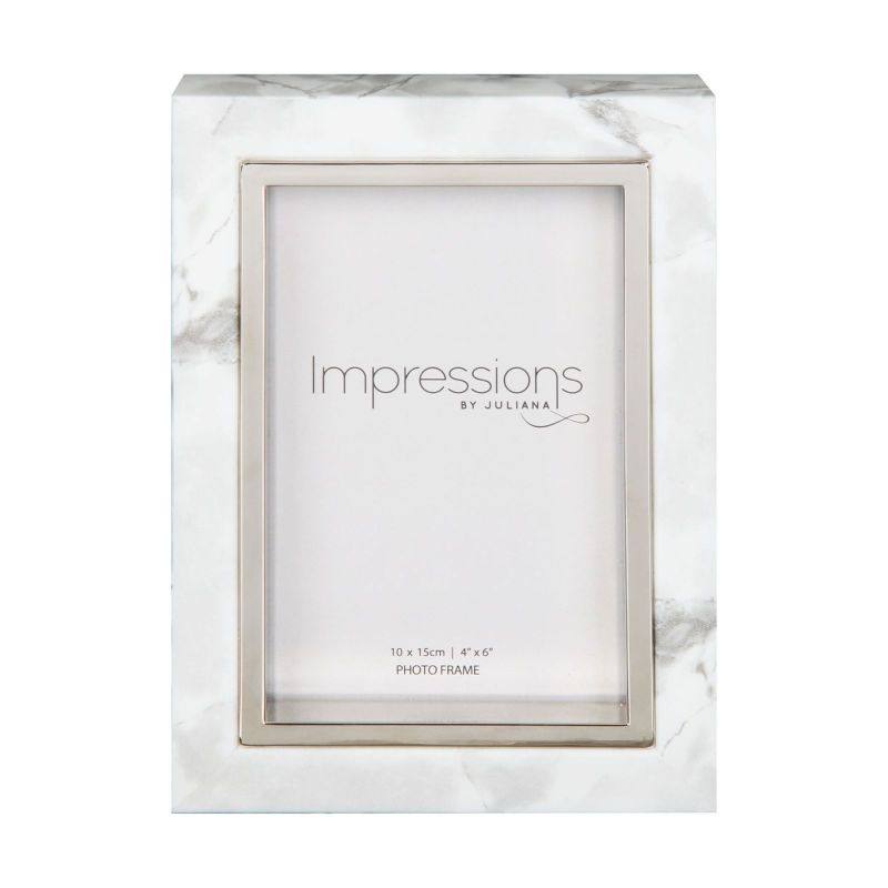 Marble Effect Photo Frame by Widdop and Co.