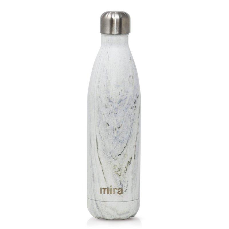 Cascade Water Bottle in White Granite by Mira
