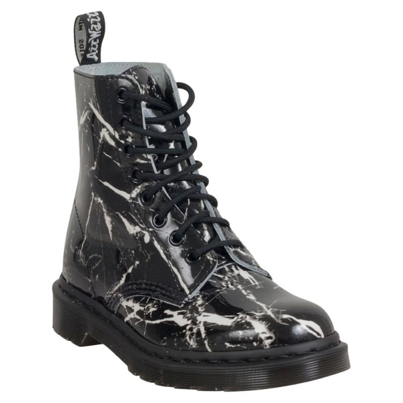 Dr martens Marble boots available in white or black marble pattern - 2016