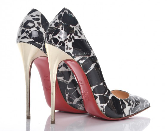 Great shoes designers inspired by stones: Walter de Silva