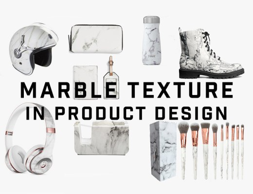 Marble texture in product design