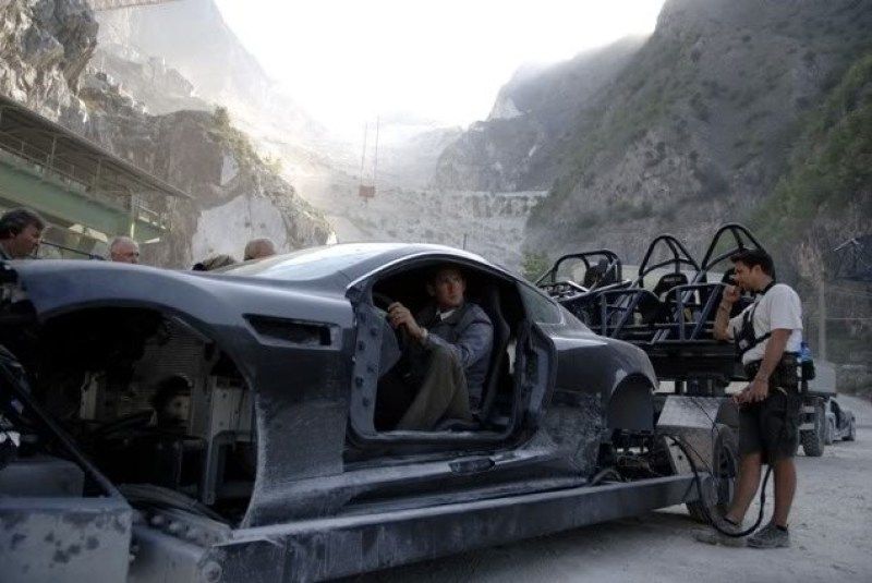 007 Quantum of Solace - 2008 - set in Carrara marble quarries