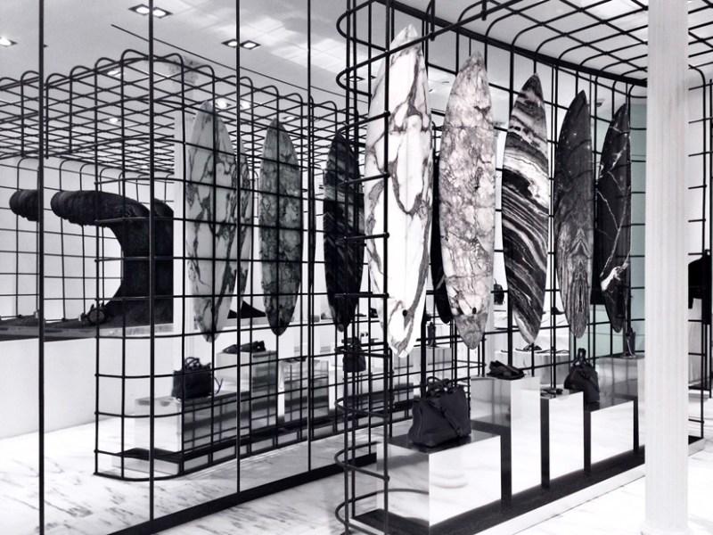 Alexander Wang flagship store Soho, NYC