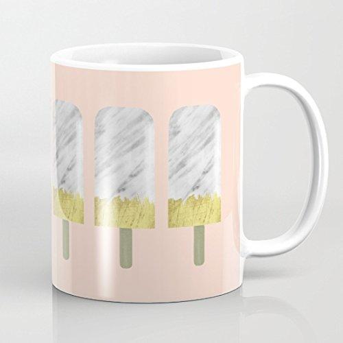 Carrara Marble popsicles mug by Mugsparadise