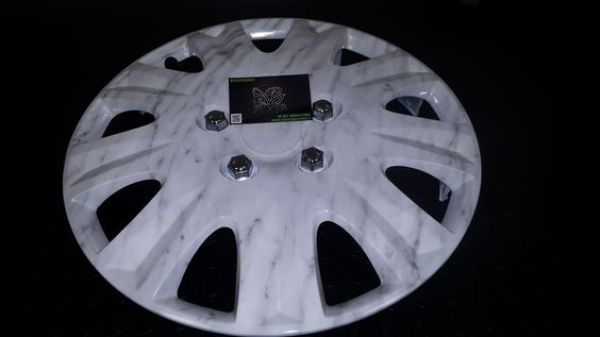 marbled wheel cover - De Bei cubicatura