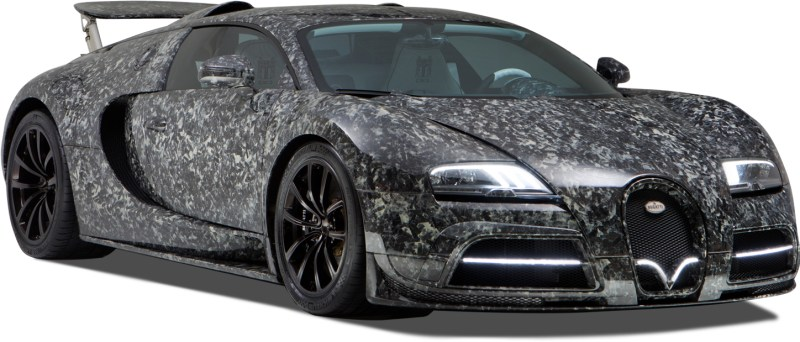 The BugattiVeyron Vivere Final Diamond Edition - marble collage carbon fabric