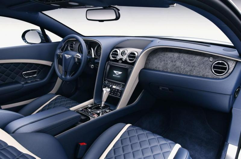 Bentley Continental with slate veneer trims