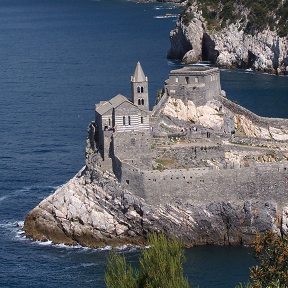 Portovenere, Liguria, Italy, between Carrara and the Cinque Terre