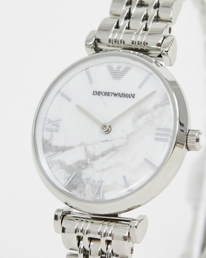 Armani marble watch