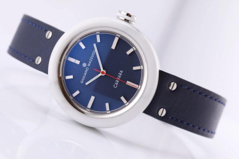 Giuliano Mazzuoli CARRARA marble watch