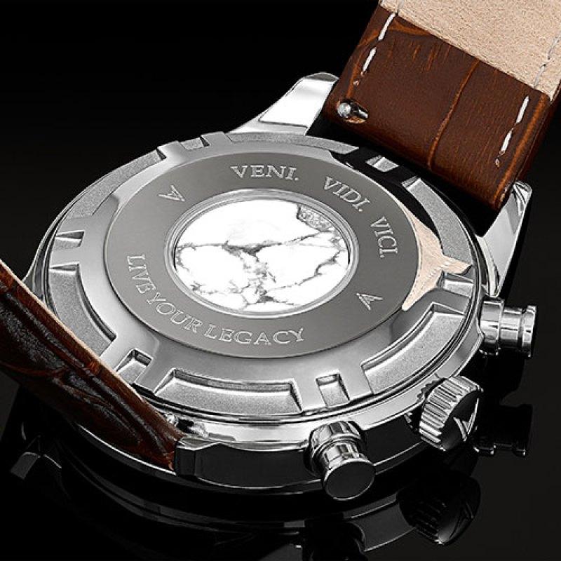 Vincero marble watch - details