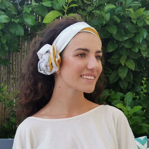 How to wear turbans: 30's style - marble turban by everything marble and l'ughetta