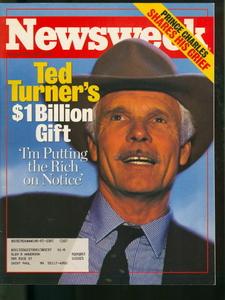 Startete mit Milliardenspende an die UNO einen Trend: CNN-Gründer Ted Turner