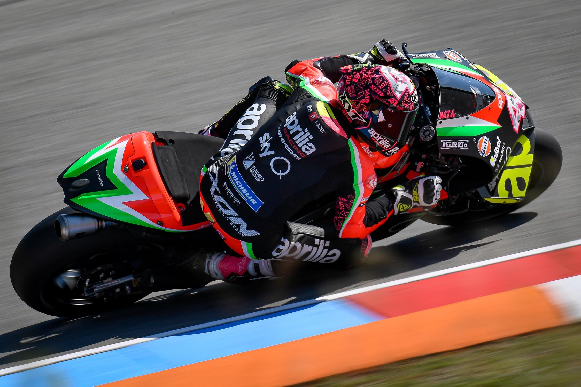 Aleix Espargaro Injured While Training, Will Miss MotoGP Test At Sepang - Roadracing World