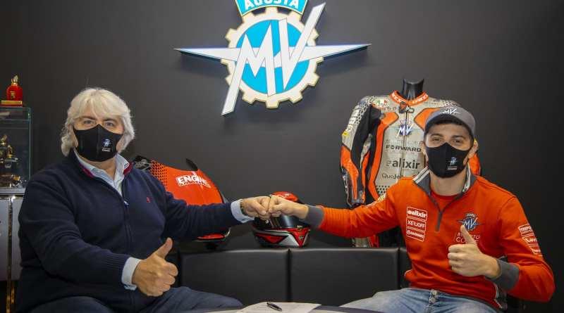 Moto2: Tommaso Marcon joins MV Agusta for European rounds
