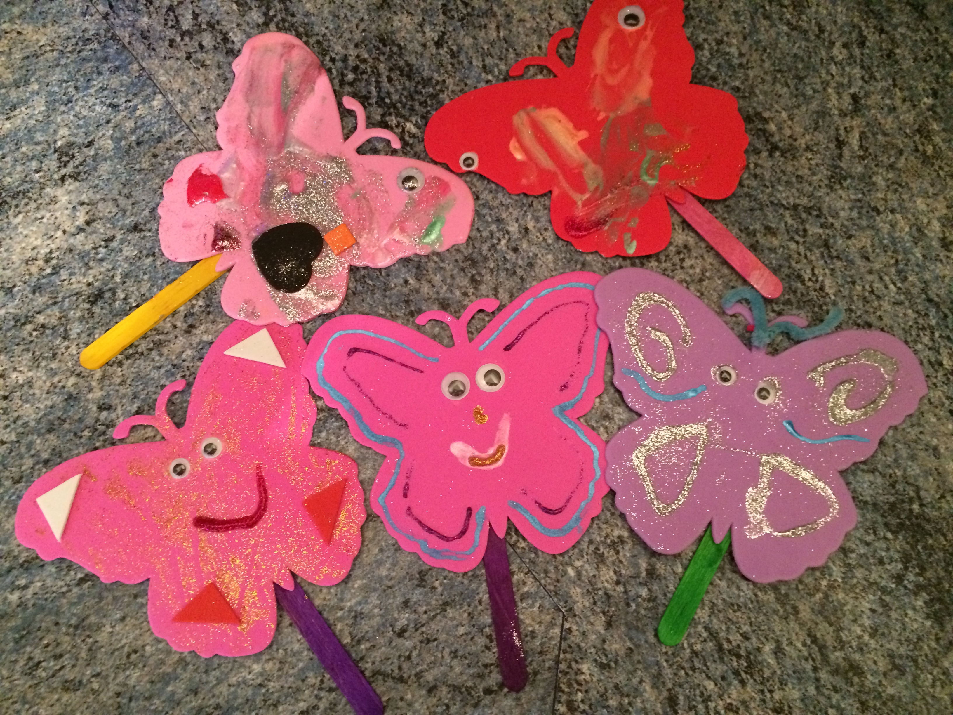 Spring Craft Idea For Toddlers
