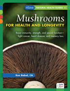 Mushrooms for Health and Longevity by Ken Babal, CN