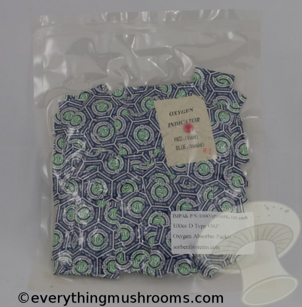 Oxygen Absorbers - 100cc (100 Packet Count)