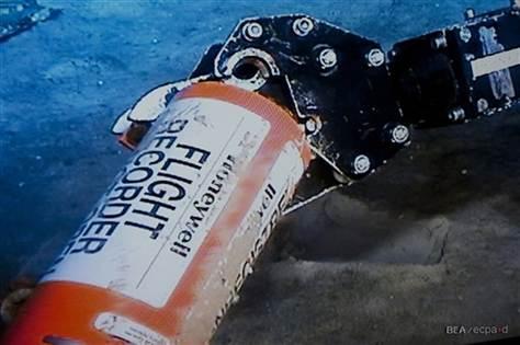 Air France black box found