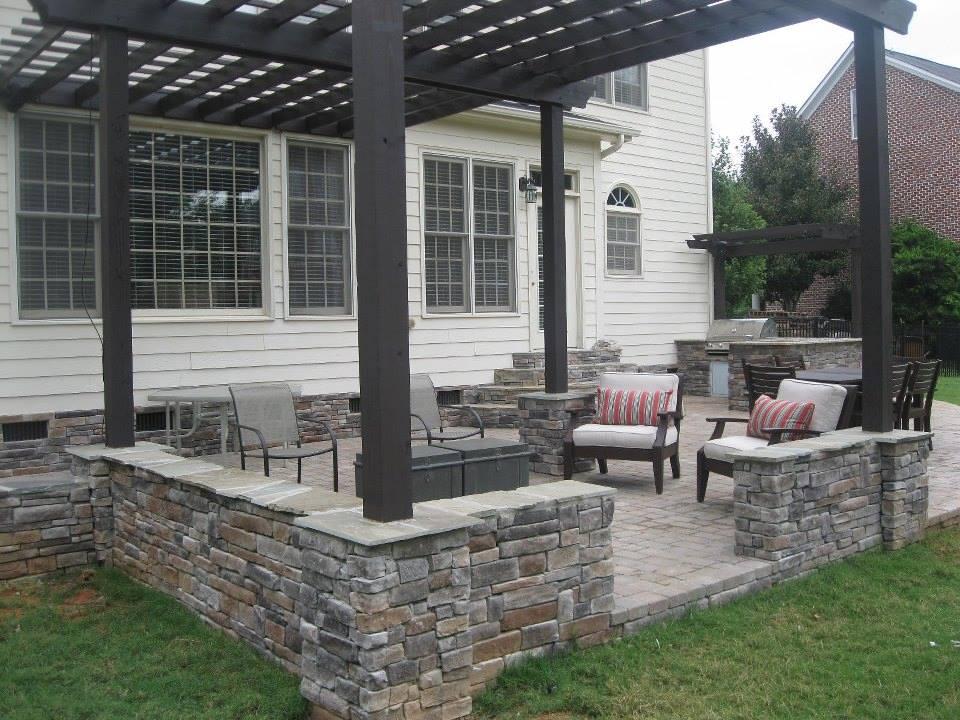 Stone & Paver Patios | Everything Outdoors of Tulsa on Outdoor Pavers Patio id=92847
