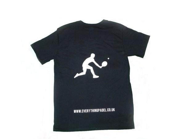 padel t-shirt black 2