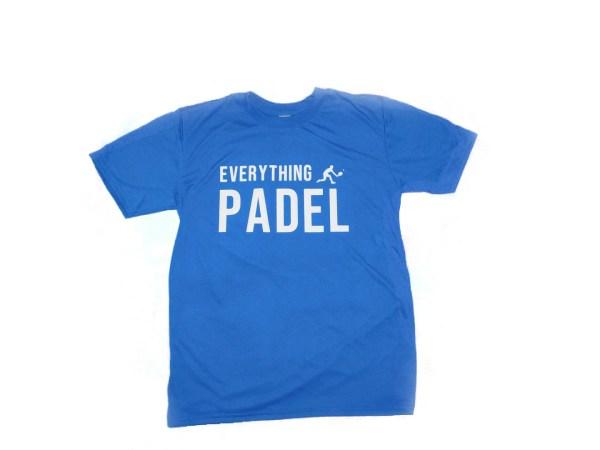 padel t-shirt blue
