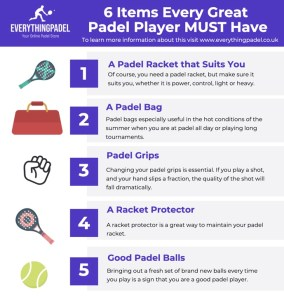 5 items every great padel player MUST have