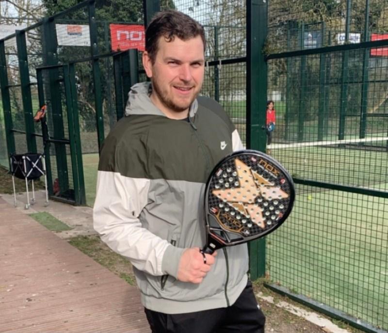 tapia padel racket