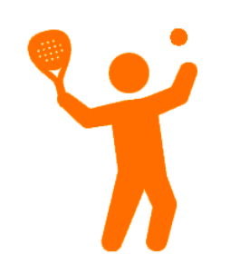 play with padel rackets