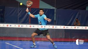 padel forehand volley