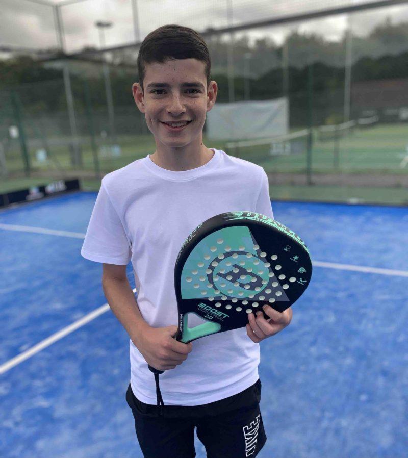 Dunlop control padel racket