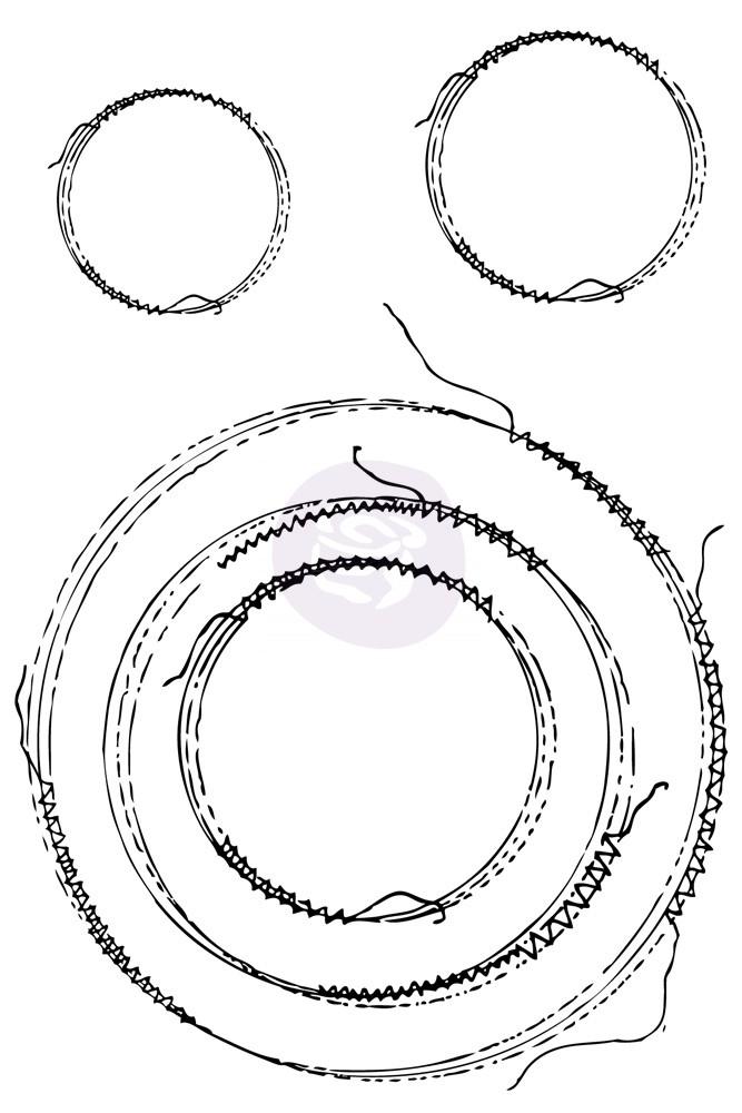 Prima Stitch Stamps - Circles