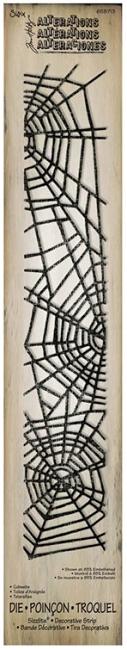 Deco Strip Die Tim Holtz Cobwebs