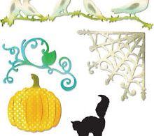 Thinlits Pumpkin, Cat, Crows