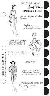 Wendy Vecchi Charming Art Stamp Set