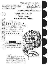 Wendy Vecchi The Purpose of Art Stamp Set