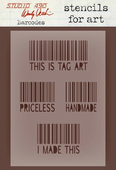 Wendy Vecchi Barcode Stencil