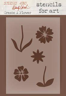 Wendy Vecchi Create a Flower Stencil