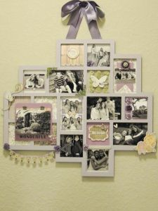 "Kaisercraft's Beyond the Page ""Abstract Memory Frame"" by Lara"