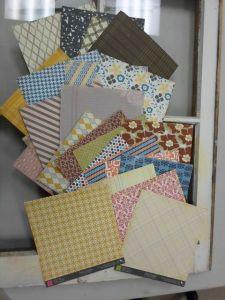 28 sheets 6x6 sheets of Authetique paper!