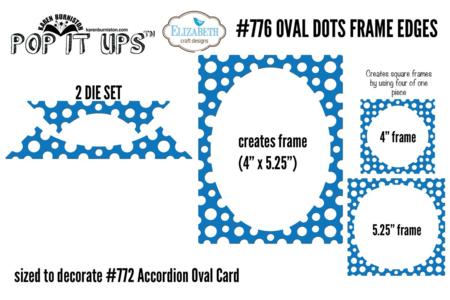 Oval Dots Frame Edges #776