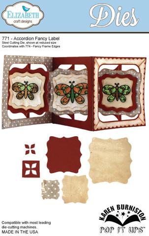 Butterfly Pivot Card Die