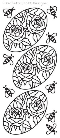 Roses in Oval