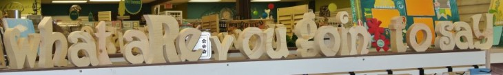 Assorted Wood Letters