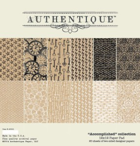 Authentique Accomplished 12x12 Collection