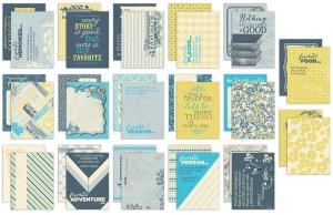 Authentique Favorite Life Cards