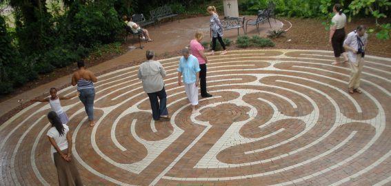 Back to Back Retreat Labyrinths