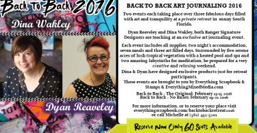 Back to Back Art Retreat 2016